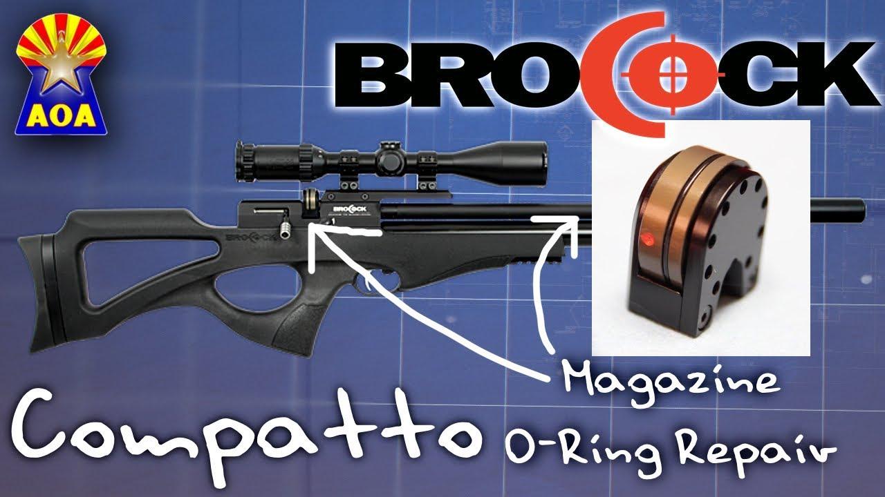 Brocock Compatto and Bantam Magazine O-Ring Repair