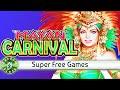 Mayan Carnival slot machine Bonus with Super Free Games