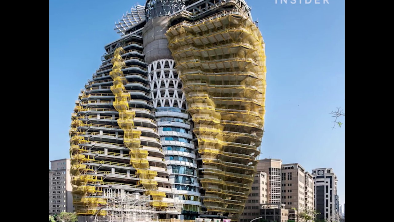 This Eco Friendly Apartment Building Is Designed To Absorb Carbon
