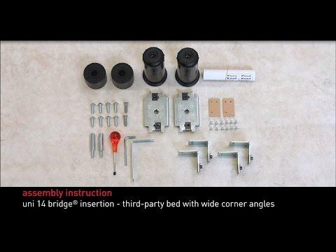 Swissflex assembly instructions - uni 14 bridge® insertion
