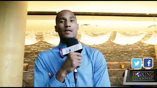 ALANTEZ FOX TALKS TO TBC PRE-FIGHT