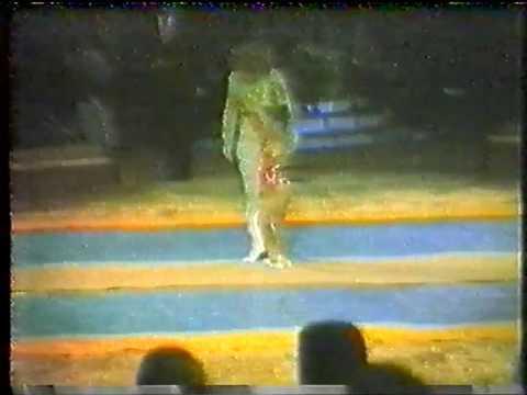 Ewelyn Marinof debut 1981. Circus Knie (Suisse)-Kid's Show-