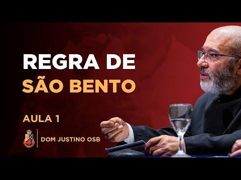 Centro Dom Bosco - A regra de São Bento - Parte 1 - Dom Justino