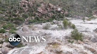 Arizona rescue agencies airlift stranded hikers