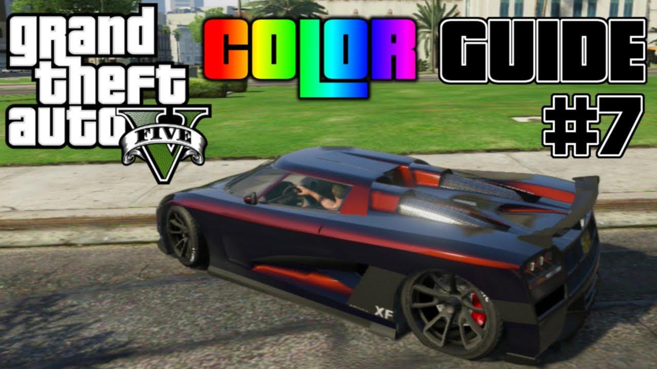 Gta V Ultimate Color Guide 7 Best Colors For Car