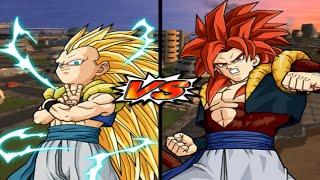 [TAS] DBZ BT3: Gotenks Vs. Gogeta (Super Saiyan 4) (Super Enhanced Red Potara) (Request Match)
