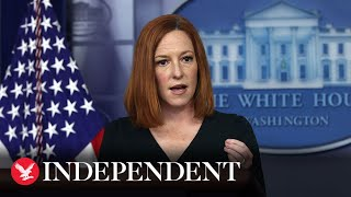 Live: White House press secretary Jen Psaki holds briefing