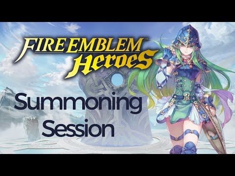 Fire Emblem Heroes: Summoning Session with Agim! (207 Orbs)