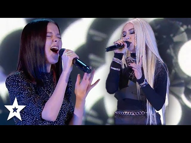 Ava Max and Daneliya Tuleshova STORM The Stage Together on AGT 2020 | Got Talent Global