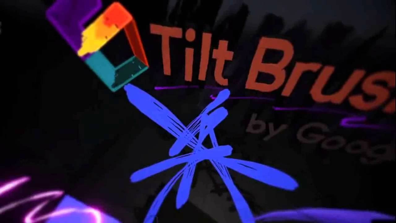 Tilt Brush is Google's Virtual Reality (VR) Painting App for HTC Vive to paint in 3D - YouTube