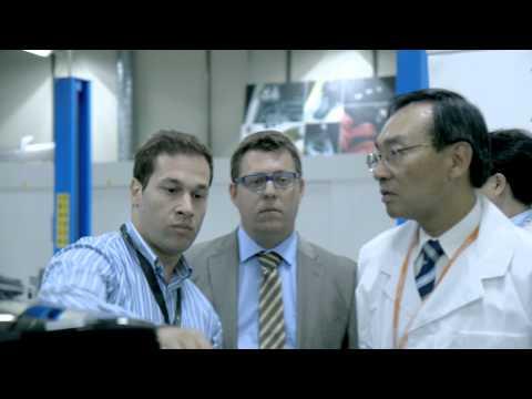 Visit of Panasonic Corporation President Kazuhiro Tsuga to Ficosa facilities in Viladecavalls