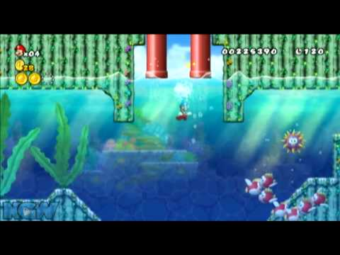 World 1 Star Coin Locations New Super Mario Bros Wii
