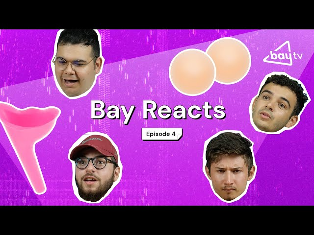 Guys Guessing Girl's Products | BAY REACTS #4