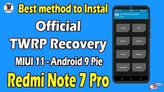 Best Method to Install TWRP on Redmi Note 7 Pro MIUI 11 Android 9 Pie   100 Working Method   Hindi  