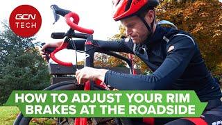 How to Adjust Y๐ur Rim Brakes on the Roadside   GCN Tech Monday Maintenance