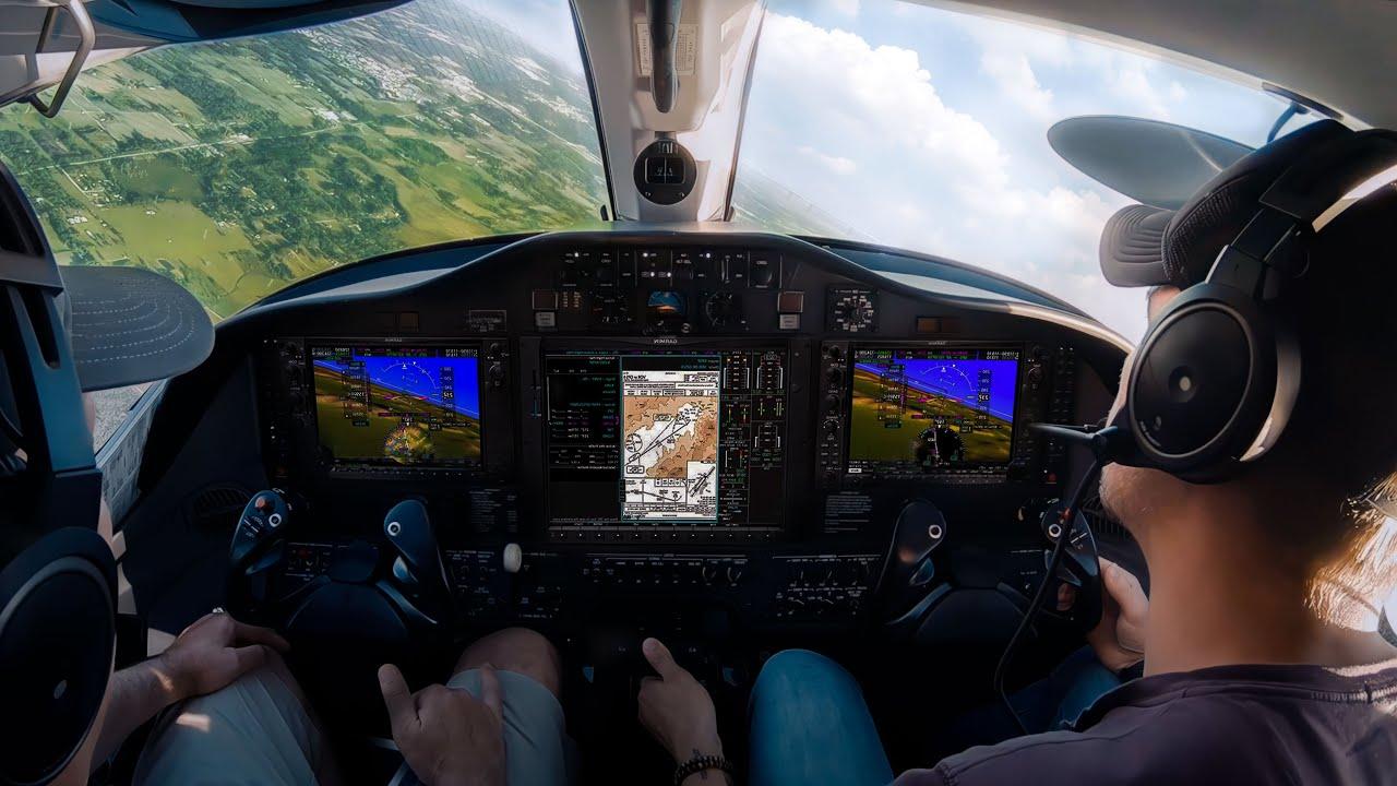 Video Landing A Citation Mustang Student Pilot News