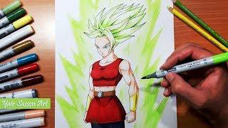 Drawing Kale! Controlled Super Saiyan Berserk! Dragon Ball Super