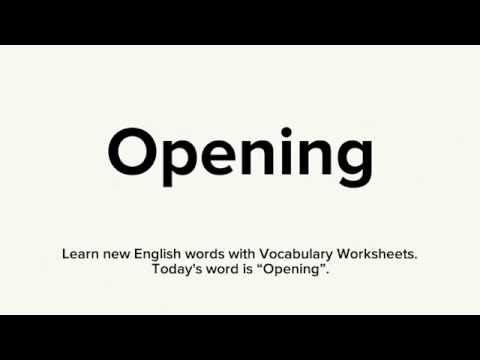 Vocabulary - How to learn new English words with Vocabulary ...