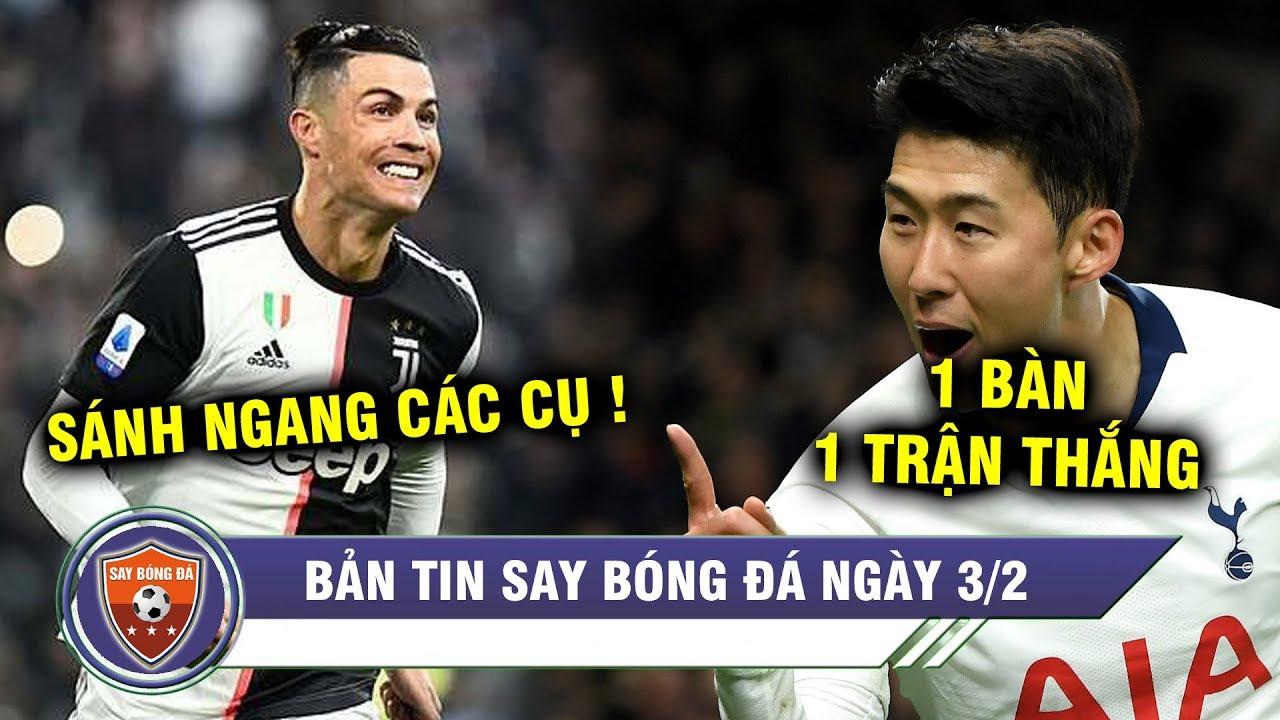 ĐIỂM TIN BÓNG ĐÁ 3/2| Ghi 2 bàn, Ronaldo vượt kỉ lục GERD MULLER, MC gây thất vọng trước Tottenham