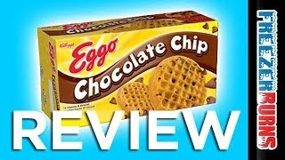 Kellogg's Eggo Chocolate Chip Waffles Video Review: Freezerburns (ep656)