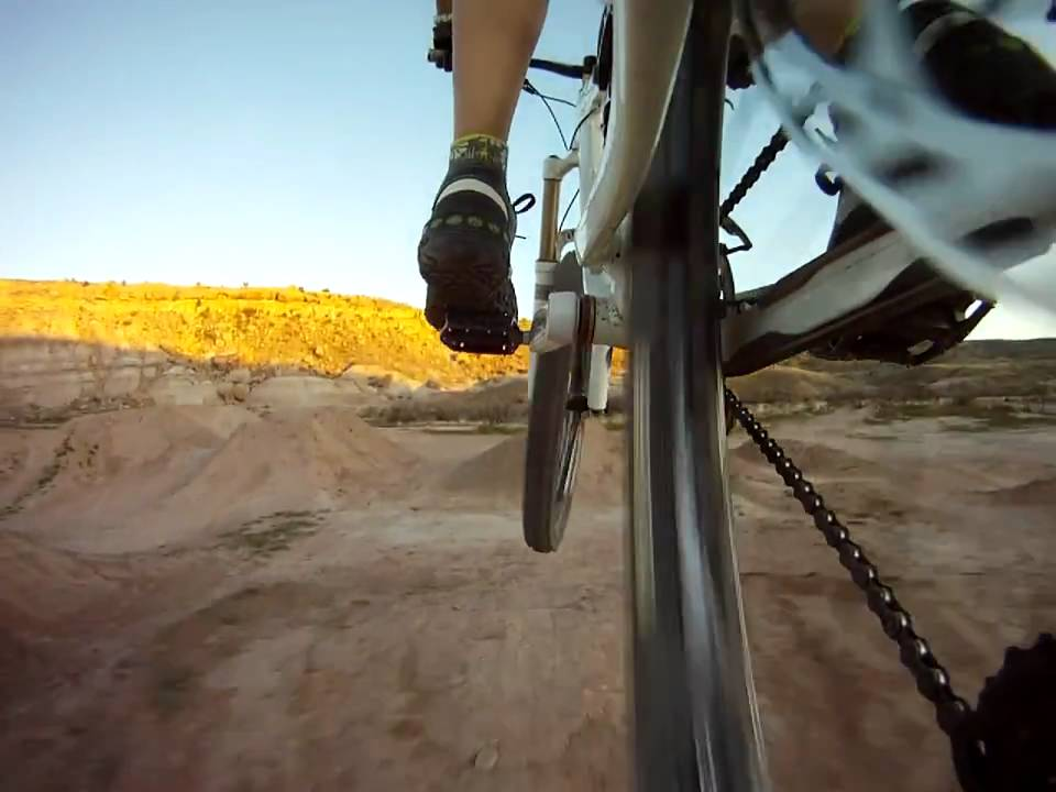 GoPro Test Mount: Handlebar Mount Off The Side Rear Bike Frame - YouTube