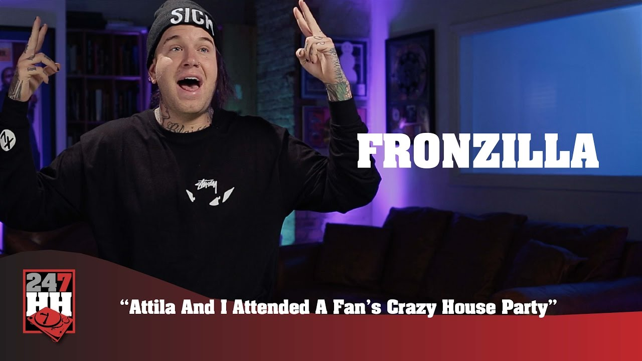 fronzilla attila and i attended a fan 39 s crazy house. Black Bedroom Furniture Sets. Home Design Ideas