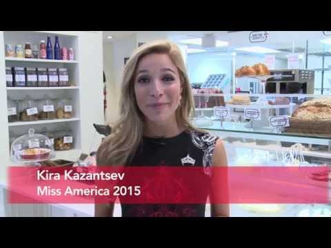Miss America 2015 and Georgetown Cupcake founders visit Dog Tag Bakery
