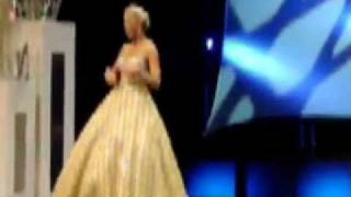 Elizabeth Crot Miss Virginia Preliminary Talent Winner 2011 Sempre Libera