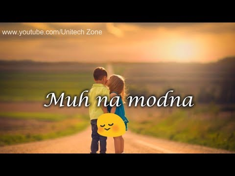 BOLNA ❤ || Female Version ❤ New : Love ❤ : Romantic 💏 WhatsApp Status Video ❤ Unitech Zone