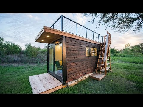 Absolutely Beautiful Elegant Container Tiny House For Great Stays