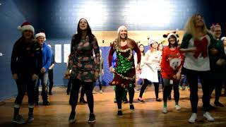Teachers' Christmas Dance for the Kids