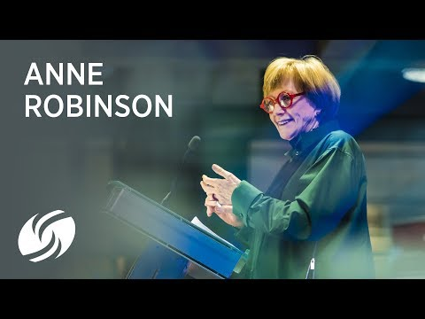 Anne Robinson speaks at Power of Women - Dress for Success