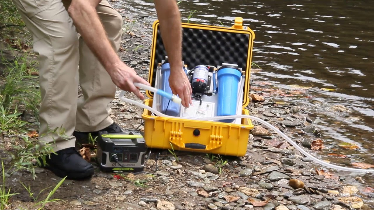 The Trekker Portable Water Purification Solution Portable Water Plant