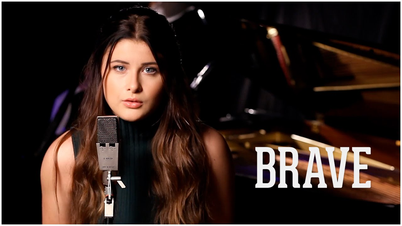 Brave - Sara Bareilles (Savannah Outen Acoustic Cover) - YouTube