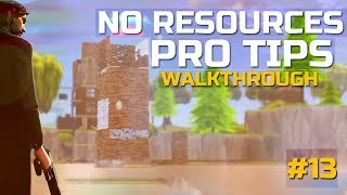 "Fortnite Tips | ""Highground"" vs "" No Resources"" 