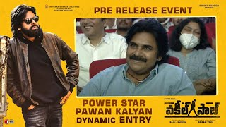Power Star Pawan Kalyan Dynamic Entry - Vakeel Saab Pre Release Event Image