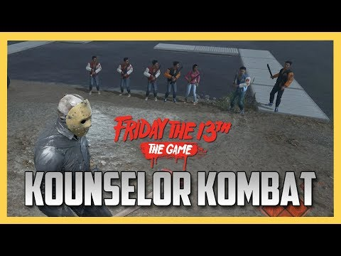 Kounselor Kombat - Counselor Melee Death Match! - Friday the 13th The Game