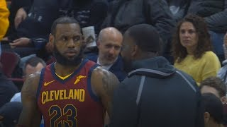 LeBron James Greets Kendrick Perkins After Joining Cavaliers!