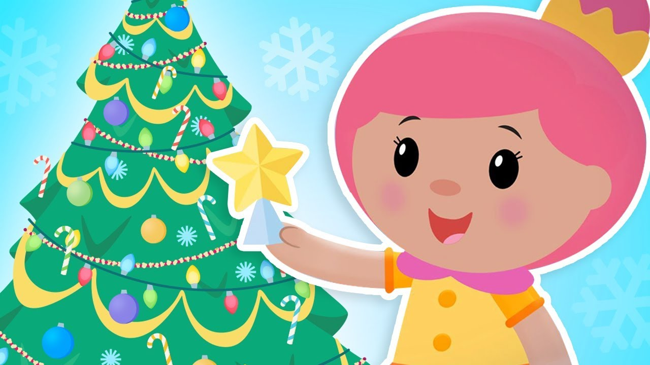 Mother Christmas Cartoon.O Christmas Tree New Holiday Video Mother Goose Club Songs For Children