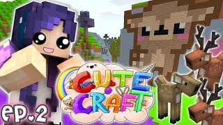 Welcome to DEER LAND!! | CuteCraft NEW Minecraft SMP - Ep. 2