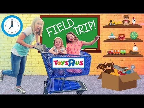 Thumbnail: Fake Toy School Field Trip to REAL Toys R Us !!!