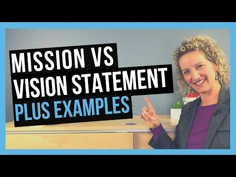 The Difference Between Mission And Vision Statement [PLUS EXAMPLES]