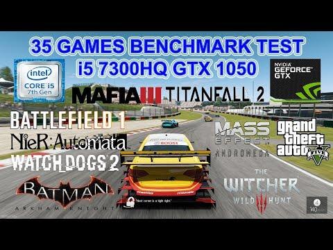 MSI GL62M 7RD i5 7300HQ GTX 1050 (35 Games in 24 Min With Latest Update)