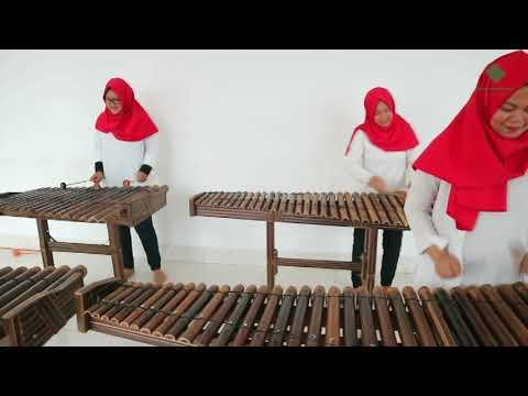 Meraih Bintang - Via Vallen | Rumah Angklung Indonesia