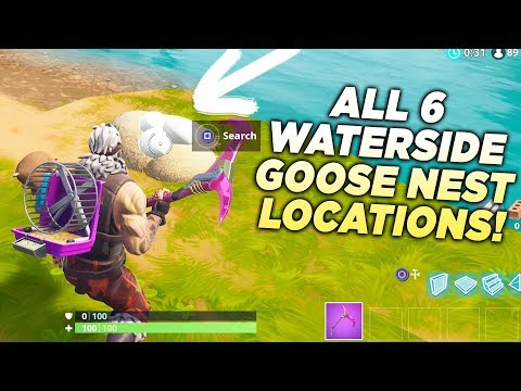 ALL 6 WATERSIDE GOOSE NEST LOCATIONS!