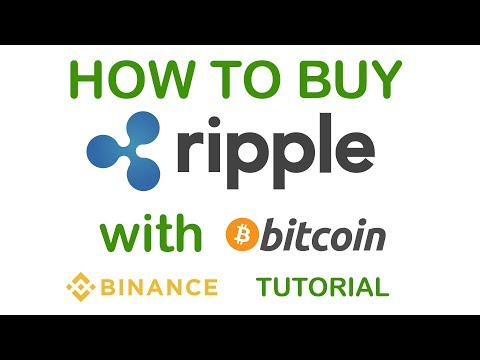 How To Buy Ripple (XRP) With Bitcoin (BTC) In Binance - Beginners Guide