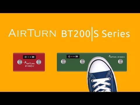 AirTurn BT200S Customizable Wireless Footswitch
