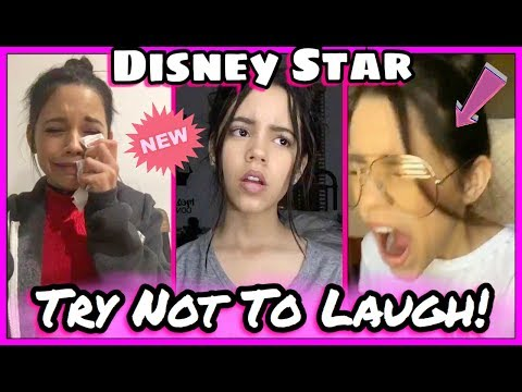 Try Not To Laugh Challenge Disney Star Edition  Jenna Ortega Funniest Musical.ly 2017