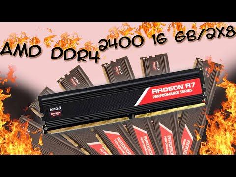 Оперативна пам'ять AMD DDR4-2400 16384MB PC4-19200 (Kit of 2x8192) R7 Performance Series (R7S416G2400U2K)