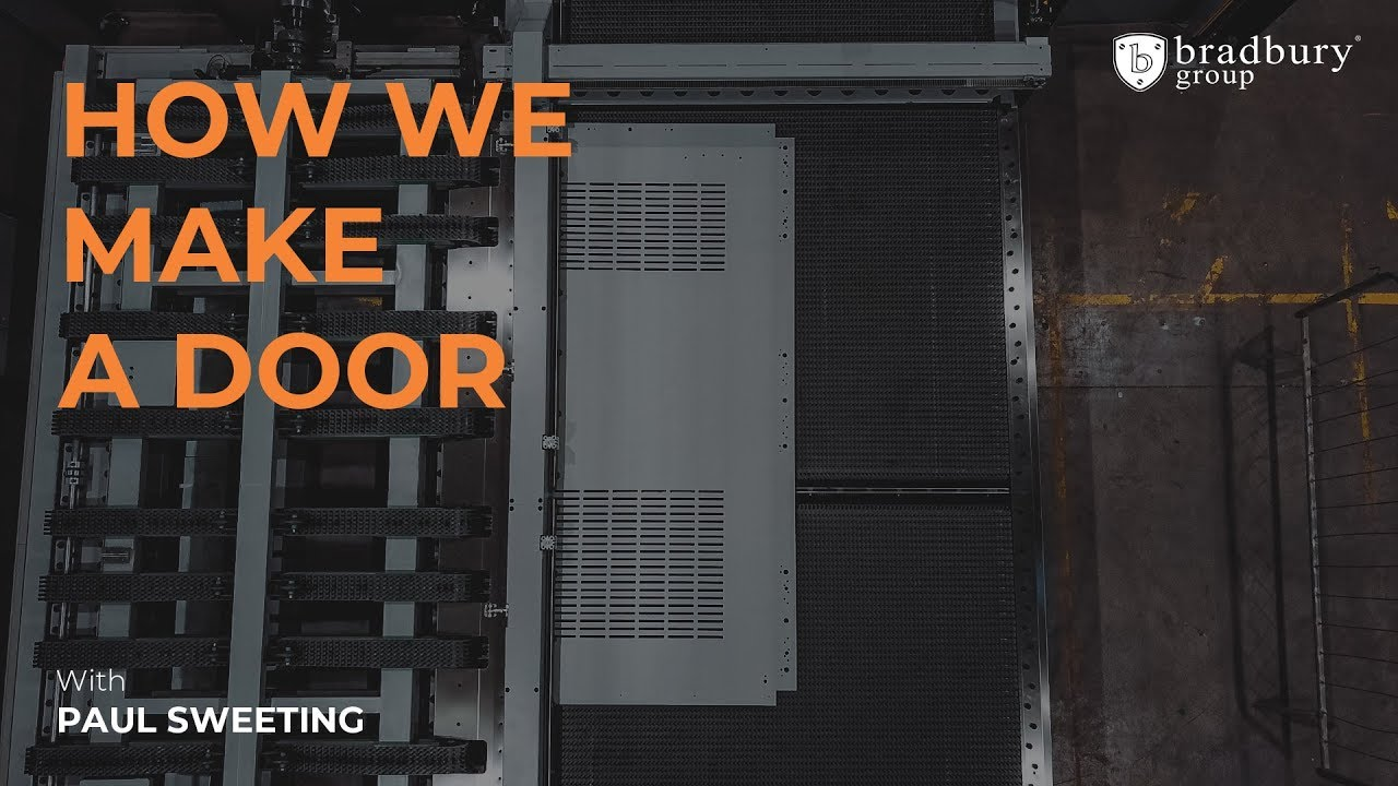 How we manufacture a steel door at Bradbury Group
